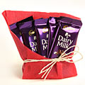 5 Dairy Milk Chocolates with Gift Wraping