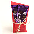 2 Cadbury Silk Chocolates with Gift Wraping