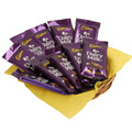 10 Dairy Milk Chocolates with basket n Gift Wraping