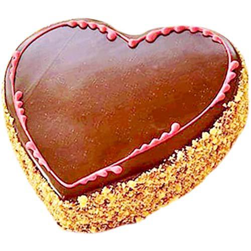 Heart Shape Almond Cake