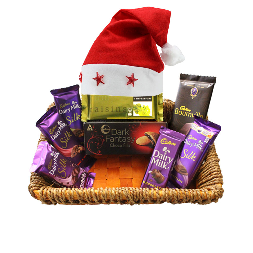 Premium Christmas Chocolate Gift Basket 5